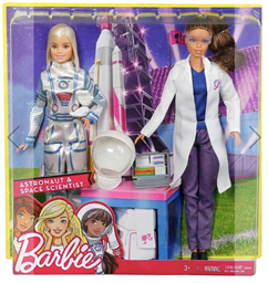Barbies in box