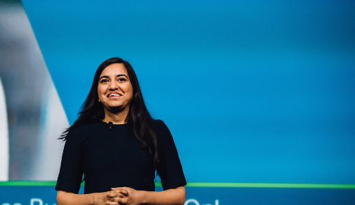 Code Like a Girl meets world leader in AI and Chatbot tech, Kriti Sharma
